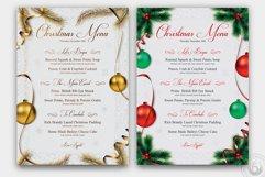 Christmas Menu Template V1 Product Image 4