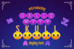 Halloween Skull Display font Product Image 1