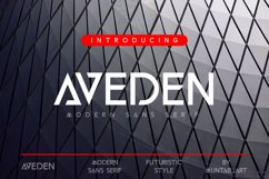 Aveden | Modern Sans Product Image 1