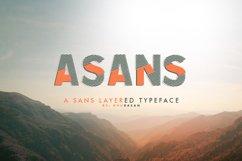 Asans Layered Font Product Image 1