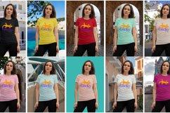 Gecko Girl 1T shirt mock up Product Image 2
