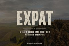 Rugged Font | Expat Product Image 1
