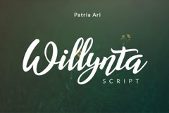 Willynta Script Product Image 1
