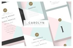 Wedding Invitation Suite - Carolyn Product Image 1