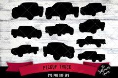 Pickup Truck svg file, car svg cut file, silhouette studio Product Image 1