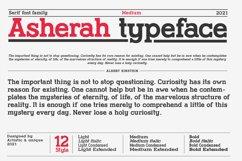 Asherah - Serif font family Product Image 6