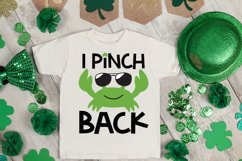 I Pinch Back SVG, St Patrick's Day SVG, Crab SVG Product Image 2