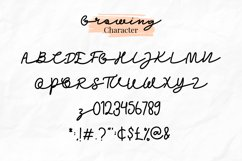 Growing Garden Handwritten Font Trio Product Image 6