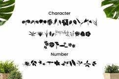 Web Font Dingbat Plant Font Product Image 2