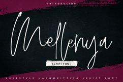 Mellenya | Handwriting Script Font Product Image 1