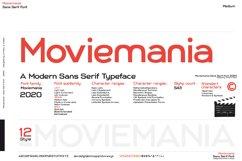 Moviemania - Sans Serif font Family Product Image 4