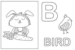 Worksheet animals and coloring book Product Image 6