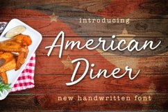Web Font American Diner Product Image 1