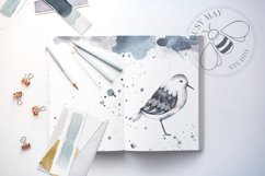 Watercolor Animals Birds Butterflies Nordic Wildlife Bear Product Image 6