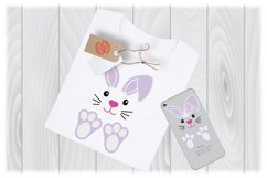 Bunny SVG Files for Cricut Designs | Easter SVG Files Product Image 1