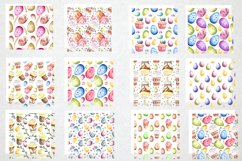 Happy Easter watercolor collection Product Image 5