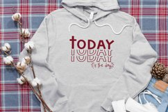 Inspirational SVG | Today Is The Day | motivational cut file Product Image 4