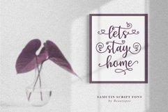 Samutin | Lovely Calligraphy Font Product Image 5