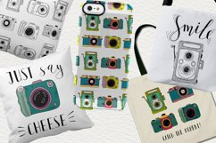 Set of cameras with letterings. Product Image 5