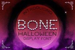 Bone Halloween Font Product Image 4