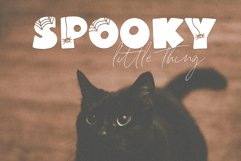 Spooky - A Fun Halloween Font Product Image 5