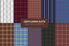 Gentlemen Suits Seamless Patterns Product Image 1