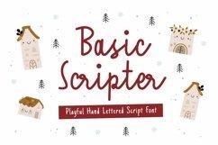 Web Font Basic Scripter Font Product Image 1