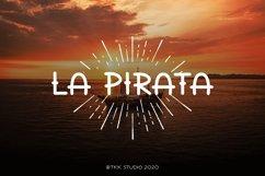 La Pirata - Vintage Tattoo Font Product Image 1