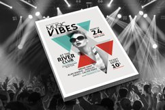 Minimal Music Flyer Template Product Image 2