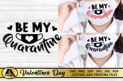 Valentines SVG Covid 2020 SVG Quarantine Valentine's Day SVG Product Image 4