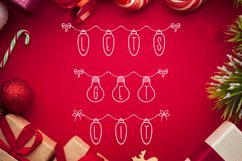 Holiday Lights - A Christmas Font Product Image 3