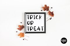 SPOOKY Halloween Distressed .OTF Font Product Image 3
