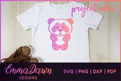 PRIMROSE THE PANDA SVG MANDALA / ZENTANGLE 3 DESIGNS Product Image 10