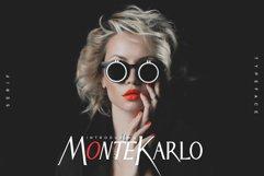 MonteKarlo Serif font family. Product Image 1