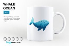 Whale Ocean Vector Illustrations Product Image 5