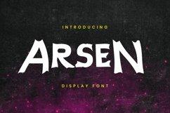 Arsen Font Product Image 4