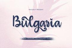 Bulgaria - Modern Calligraphy Font Product Image 1