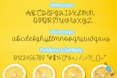 Limoncello Handwritten Monoline Script Product Image 3