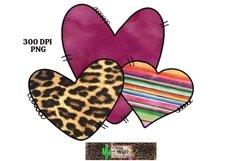 Valentine's Day Heart Elements Dye Sublimation Bundle Product Image 5
