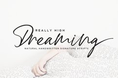 High Dreaming // Natural Handwritten Product Image 1