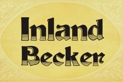 Inland Becker (pack) Product Image 1