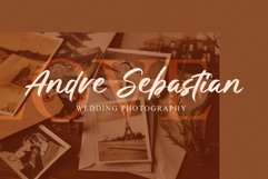 Golden Winter | A Natural Hand Brush Font Product Image 3