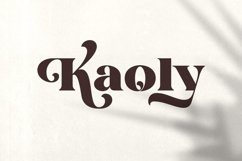 Kaoly - Beautiful Attractive Font Product Image 4