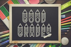 Graders - A School Font Perfect For Teachers & Students! Product Image 3