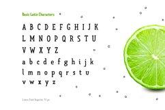Limes—handmade fontfamily Product Image 5