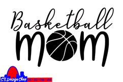 Basketball mom fan svg cut file, mother Sports parent Product Image 2