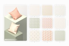 Retro geometric seamless patterns collection Product Image 3