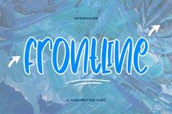 Frontline - Cute Handwritten Font Product Image 1