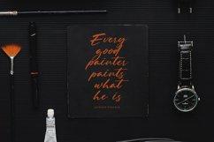 Mister Sally-Beautiful Handwritten BrushFont Product Image 3