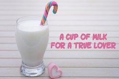Milk Drink fun font Product Image 4
